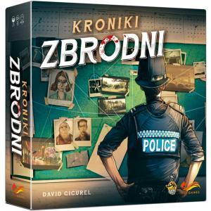 Kroniki Zbrodni. Gra Planszowa