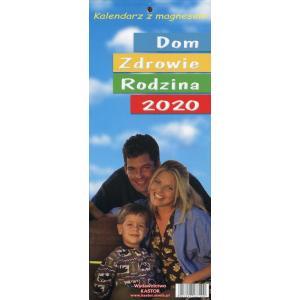 KL01 Kalendarz zdzierak 2020. Dom, zdrowie, rodzina