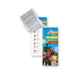 KL02 Kalendarz zdzierak 2020 Mini dom,zdrowie rodzina