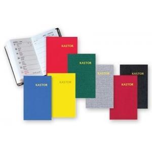 KL10 Kalendarz kieszonkowy 2020. Kastor plastik mix