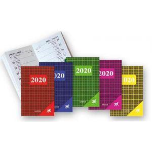 KL07 Kalendarz  2020 Kastor karton mix