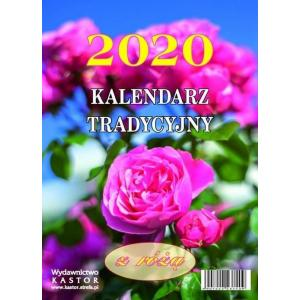 KL14 Kalendarz zdzierak 2020. Tradycyjny z różą