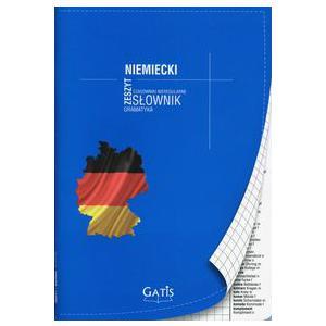 Zeszyt Język Niemiecki w Kratkę ( ze Słowniczkiem na Marginesach)