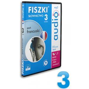 Fiszki Audio. Język francuski. Słownictwo 3 OOP