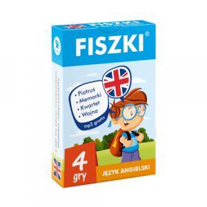 FISZKI Mini. 4 Gry. Język Angielski