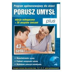 Porusz umysł plus - program ogólnorozwojowy dla dzieci CD-ROM