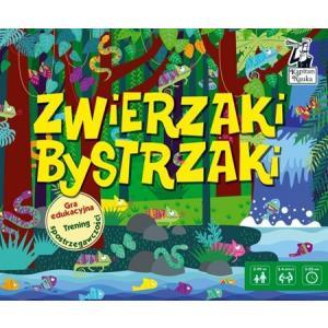 Gra Edukacyjna Zwierzaki Bystrzaki