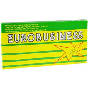 Eurobiznes Eurobusiness Gra planszowa