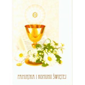 Pamiątka I Komunii Świętej Laurka C6