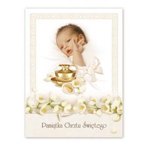 Pamiątka mała Chrzest Święty