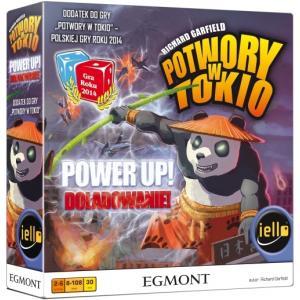 Potwory w Tokio - doładowanie Power UP!