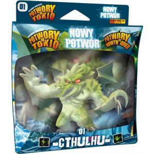 Potwory w Tokio / w Nowym Jorku: Nowy Potwór - Cthulhu. Dodatek do Gry Planszowej