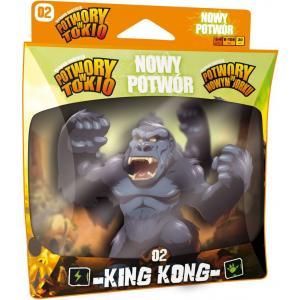 Potwory w Tokio / w Nowym Jorku: Nowy Potwór - King Kong. Dodatek do Gry Planszowej