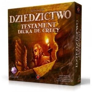 Dziedzictwo: Testament Diuka de Crecy. Gra planszowa