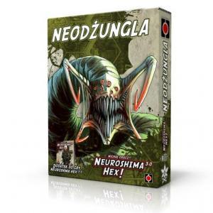 Neuroshima HEX 3.0: Neodżungla. Gra Planszowa