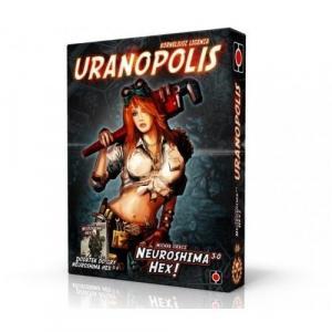 Neuroshima HEX 3.0: Uranopolis. Gra planszowa