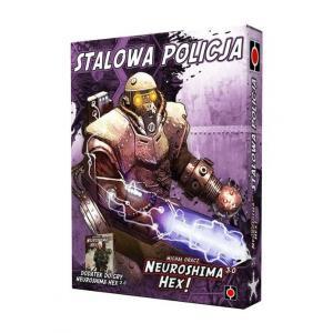 Neuroshima HEX 3.0: Stalowa Policja. Gra planszowa