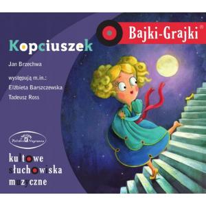 Bajki Grajki Kopciuszek CD audio /rok nagrania 1963/