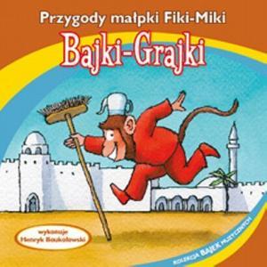 Bajki Grajki Przygody małpki Fiki Miki CD audio /rok nagrania 1980/