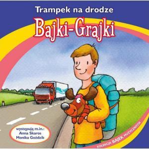 Bajki Grajki Trampek na drodze CD audio /rok nagrania 1976/