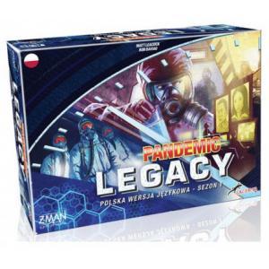 Pandemic Legacy (Pandemia) Edycja niebieska Gra planszowa