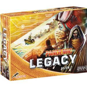 Pandemic Legacy: Sezon 2 (Edycja Żółta). Gra Planszowa