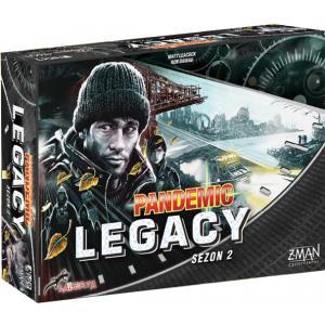 Pandemic Legacy: Sezon 2 (Edycja Czarna). Gra Planszowa