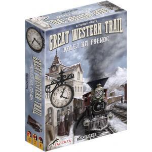 Great Western Trail: Kolej na Północ. Dodatek do Gry Planszowej