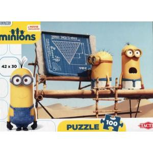 Minionki. Puzzle 100 elementów audience piramida