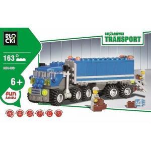 Klocki Blocki Transport Ciężarówki 163 Elementy