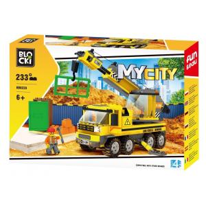 Klocki Blocki MyCity Dźwig 233 el.