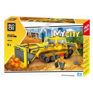 Klocki Blocki MyCity Spychacz 250 el.