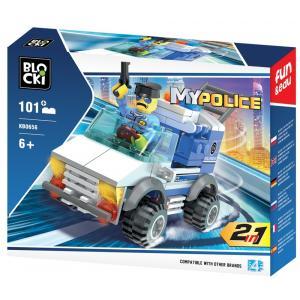 Klocki Blocki MyPolice 2w1 101 elementów