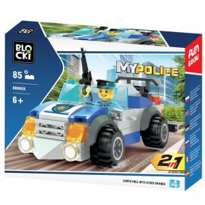Klocki Blocki MyPolice 2w1 85 elementów
