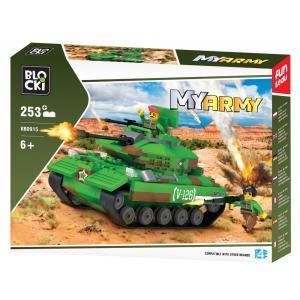 Klocki Blocki MyArmy Czołg na pustyni 253 el.