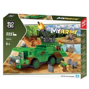 Klocki Blocki My Army Wyrzutnia Rakiet 222 el.
