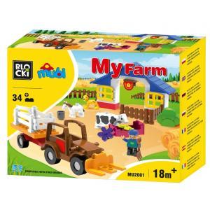 Klocki Blocki. MUBI. My Farm. 34 Elementy