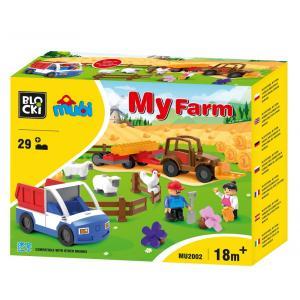 Klocki Blocki MUBI My Farm 25 el.