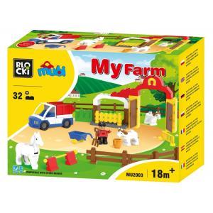 Klocki Blocki MUBI My Farm 31 el.