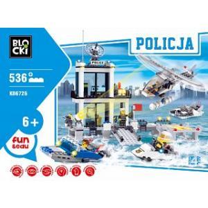 Klocki Blocki Policja Wodna 536 Elementów