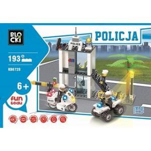 Klocki Blocki Policja Posterunek 193 Elementy