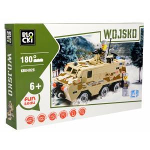 Klocki Blocki Wojsko Opancerzony Pojazd Wojskowy 180 Elementów