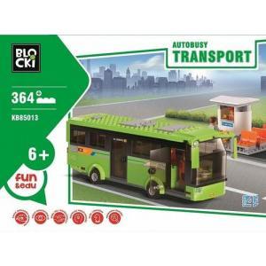 Klocki Blocki Transport Autobusy 364 elementy