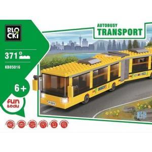Klocki Blocki Transport Autobusy 371 elementów