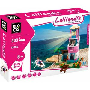 Klocki Blocki Lalilandia Latarnia morska 303 el.