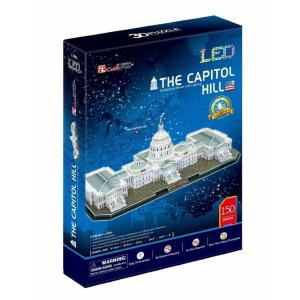 Puzzle 3D LED The Capitol Hill