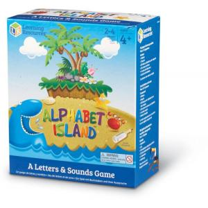 Alphabet Island. A Letter and Sound Game