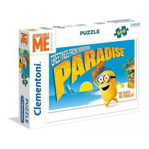 Puzzle 500 elementów Greetings from Minions