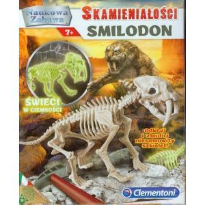 Naukowa zabawa. Skamieniałości Smilodon