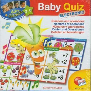 Baby Genius. Baby Quiz. Electronic. Liczby i działania. Karton